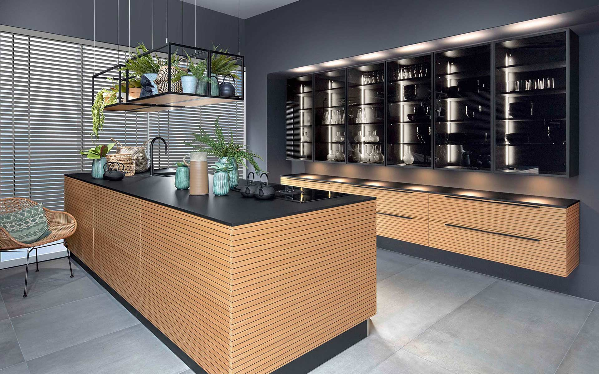 Toronto: Kitchens from Germany, Europe. Black Line Natur