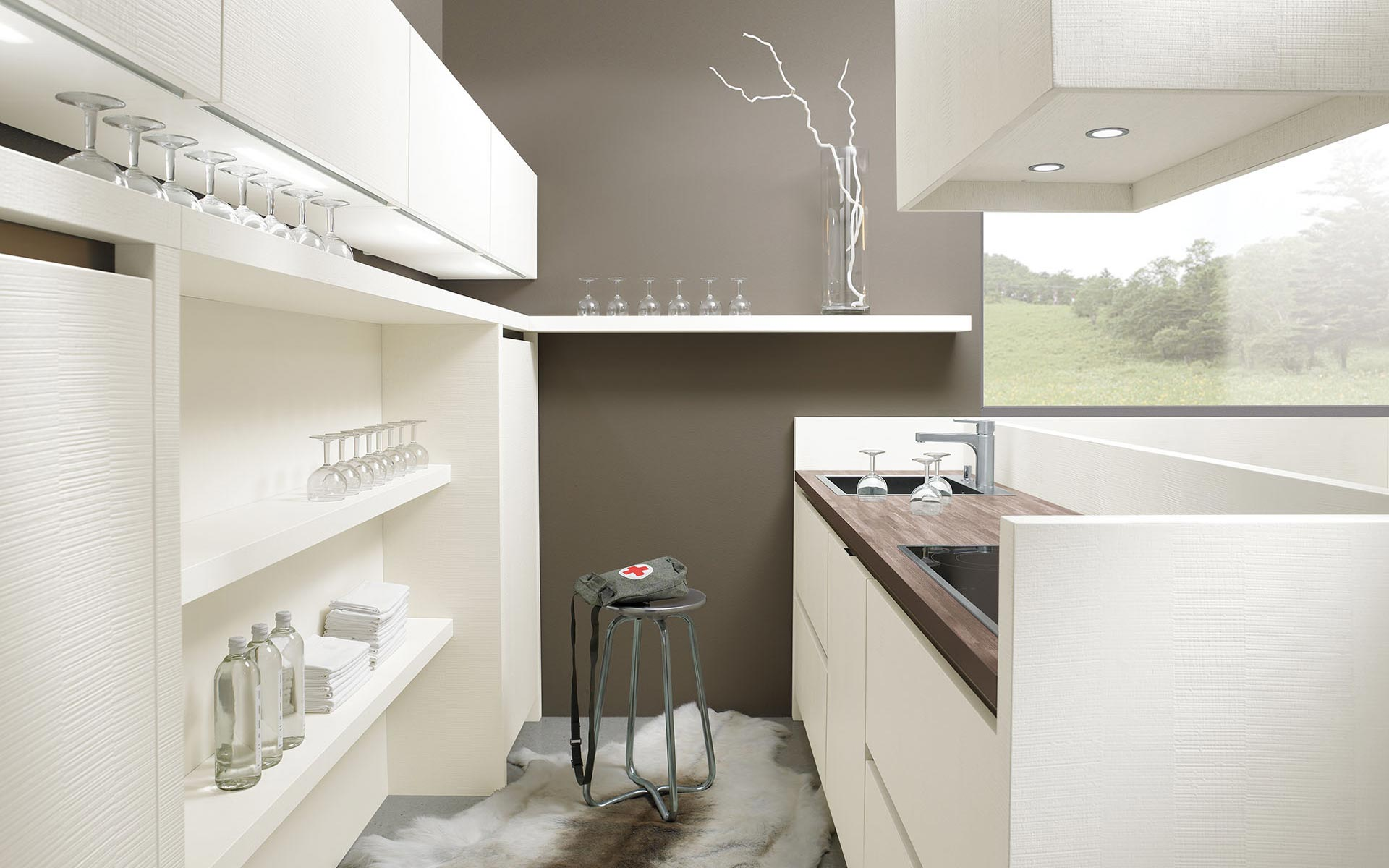 Toronto: Kitchens from Germany, Europe. Matrix Sierrado Magnolie