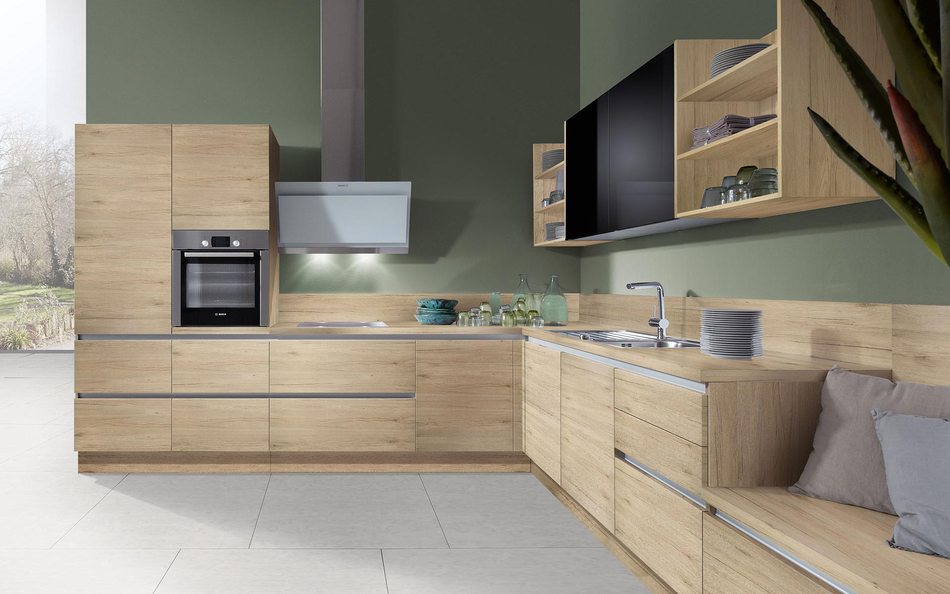 Sincrono Sanremo Oak • Luce Colored Black