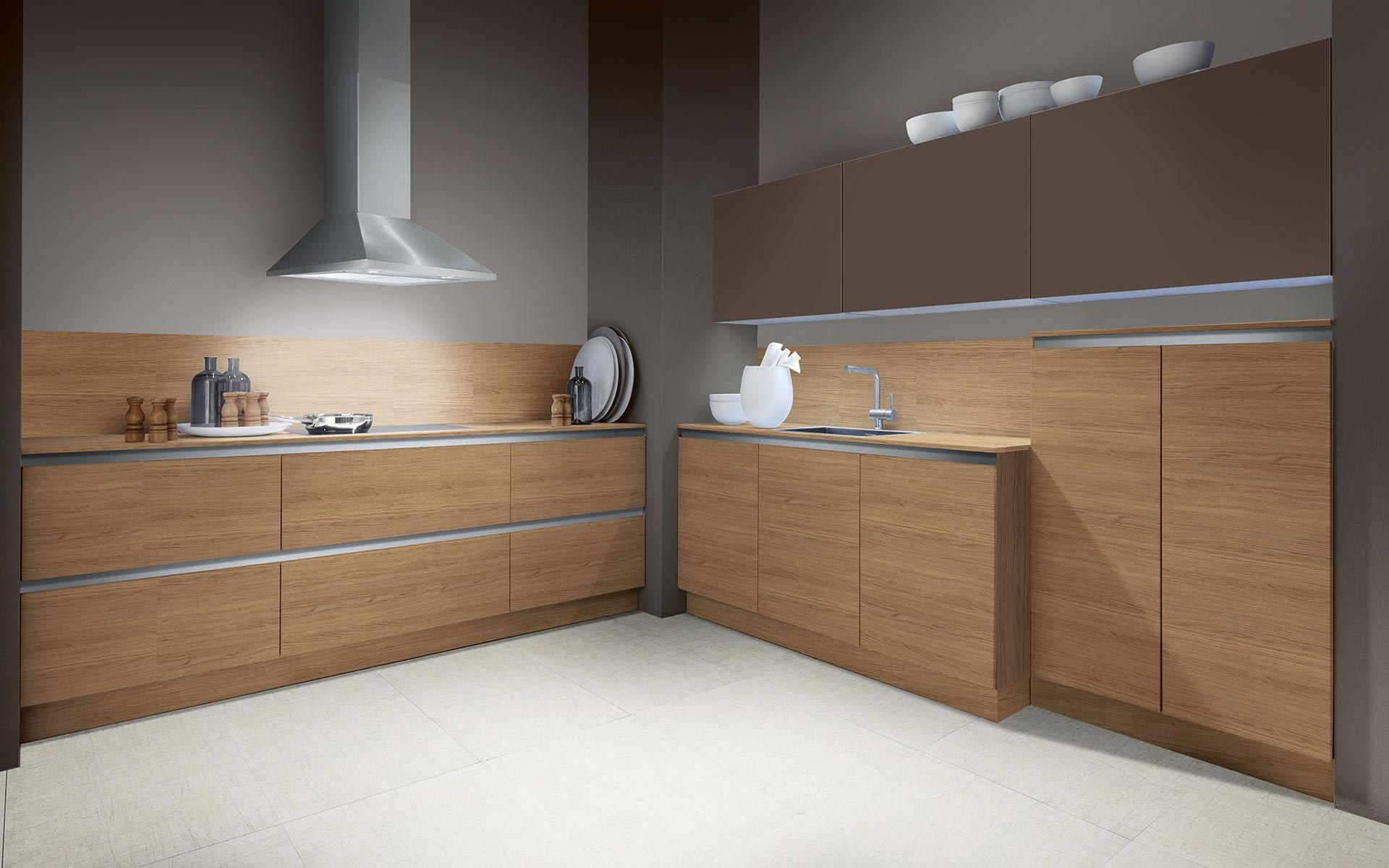 Smart H Vizenca Oak Noce • Opaco Brown