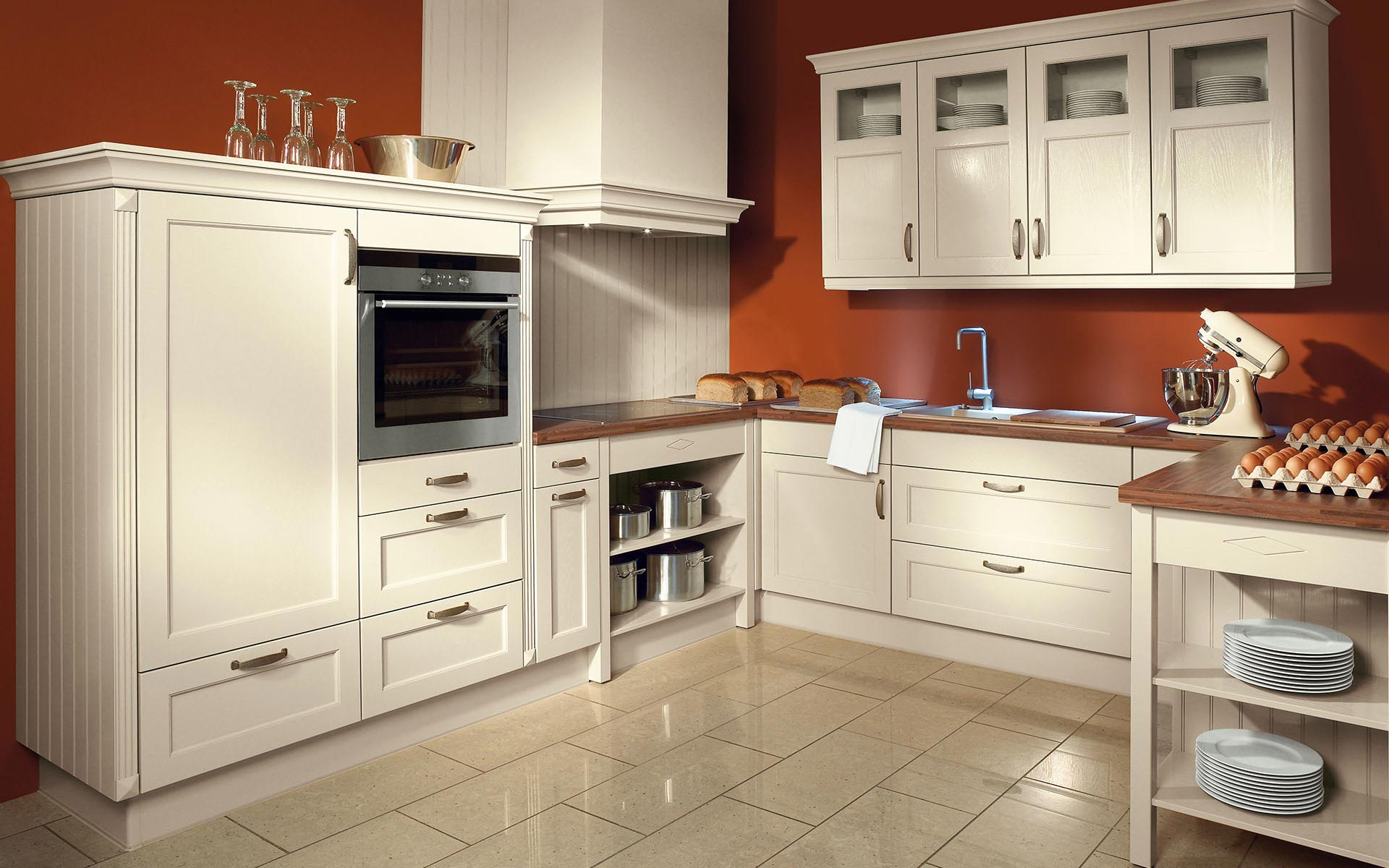 Toronto: Kitchens from Germany, Europe. Toscana Magnolie