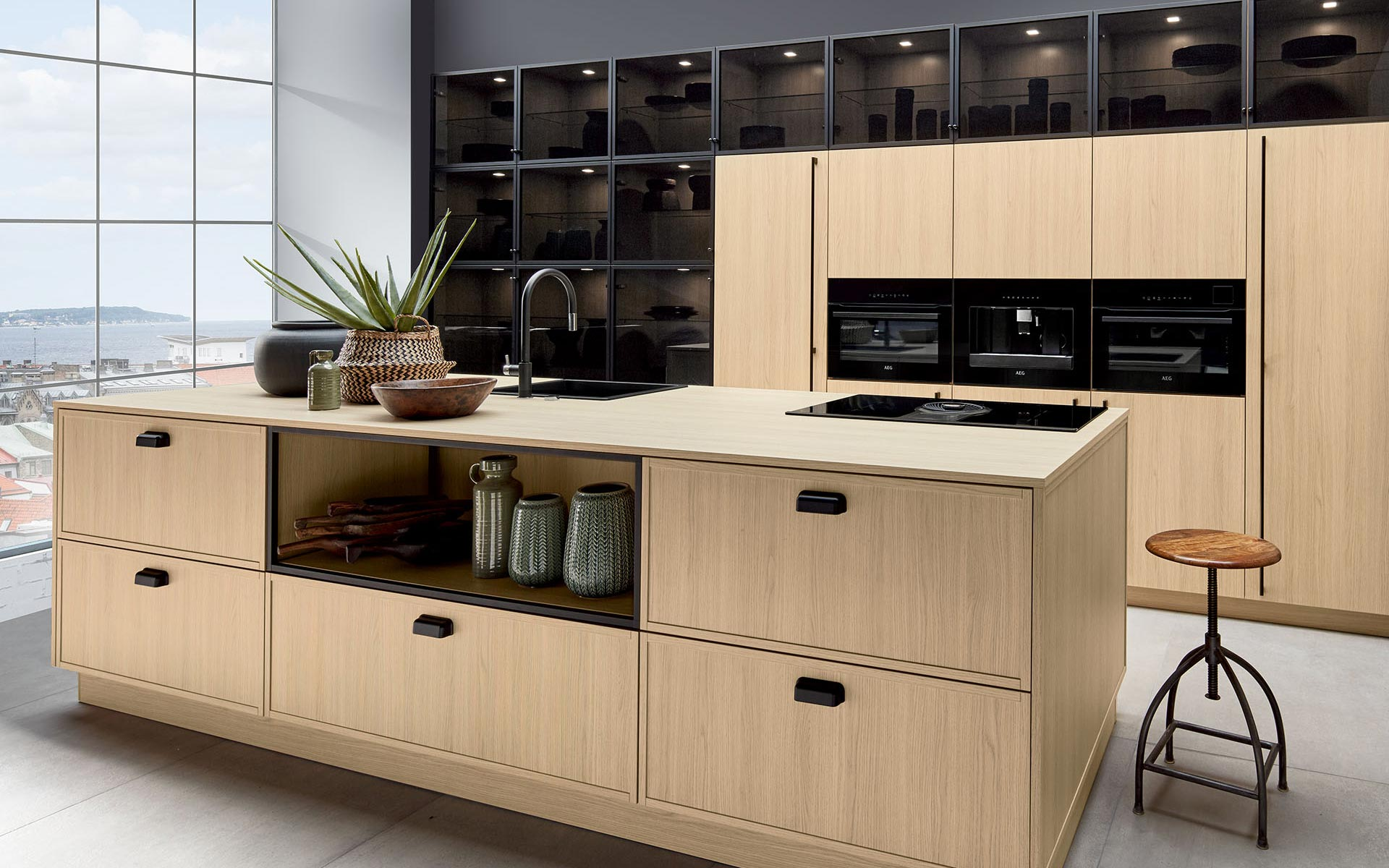 Toronto: Kitchens from Germany, Europe. Vicenza Oak Claire • Smart V Vicenza Oak Claire